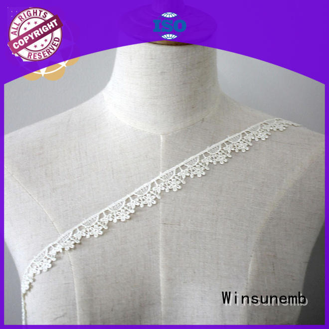 Winsunemb love stretch lace trim order now for lingerie