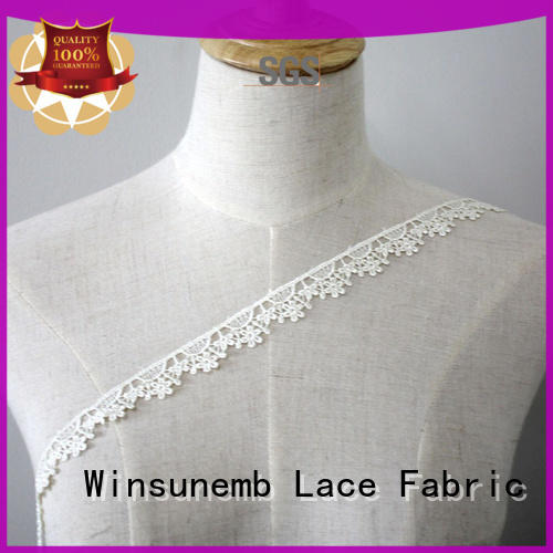 stretch lace lingerie design newest Winsunemb Brand Embroidery Lace Trimming