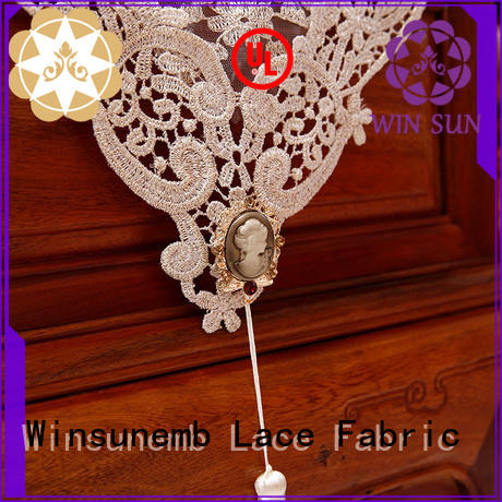 Winsunemb lace lace runners shop now for TV cabinets