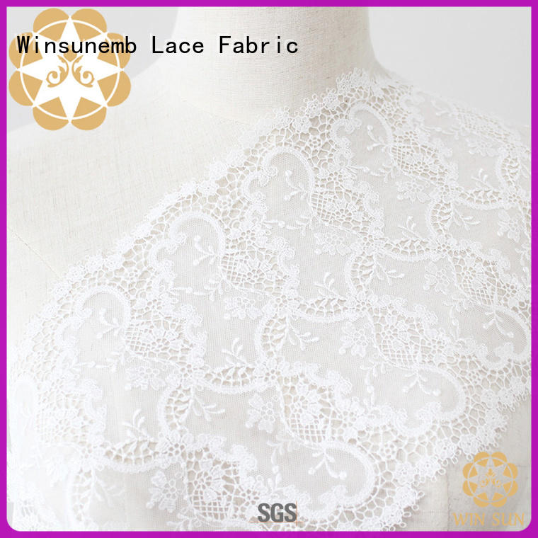 Winsunemb polyester lace by the yard grab now for underwear
