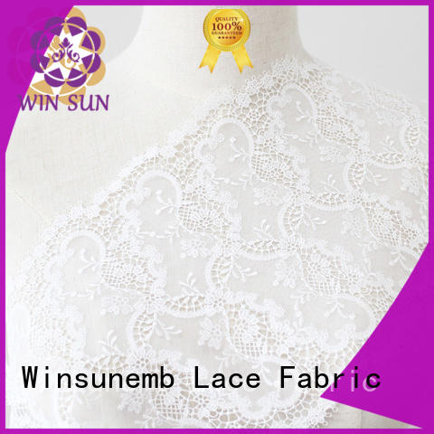 red lace fabric polyester mesh crown Winsunemb Brand