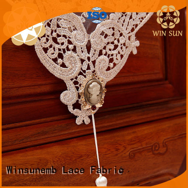 Winsunemb high-end lace table runners wedding producer for end table