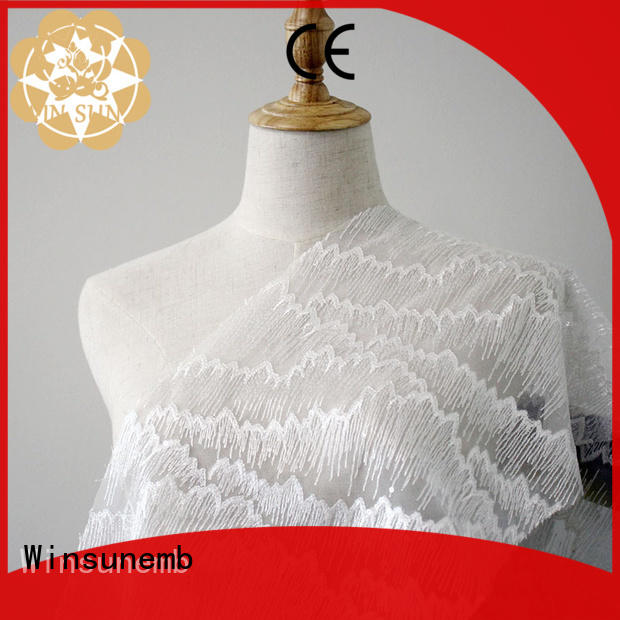 excellent lace fabric gowns bulk production for underwear