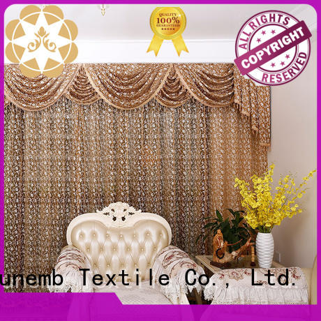 Winsunemb tier lace curtain factory price for window