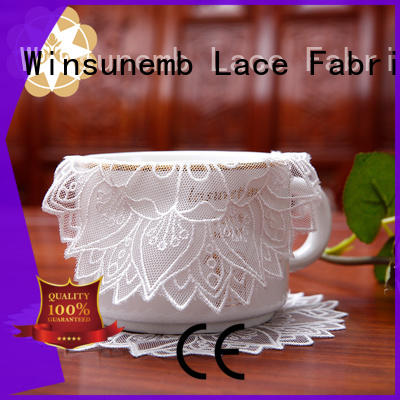 lotus round lace doilies design for pianos Winsunemb