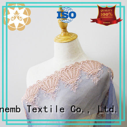 Quality Winsunemb Brand childrens french Embroidery Lace Fabric