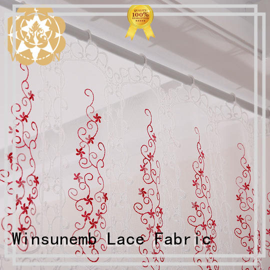 fashion design lace drapes inches for manufacturer for window
