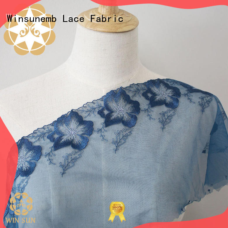 different color white lace fabric anglaise for apparel