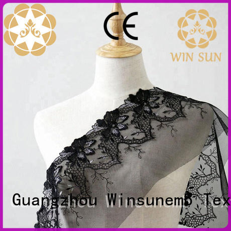 lace fabric by the yard thread producer for underwear