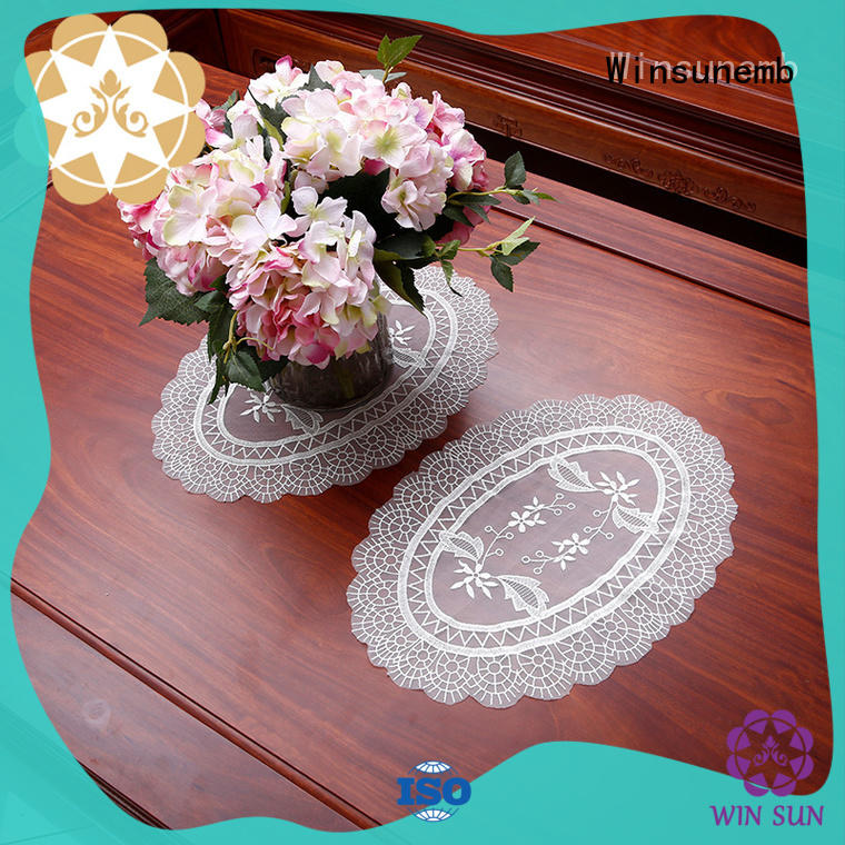 lace lace doilies producer for TV cabinets