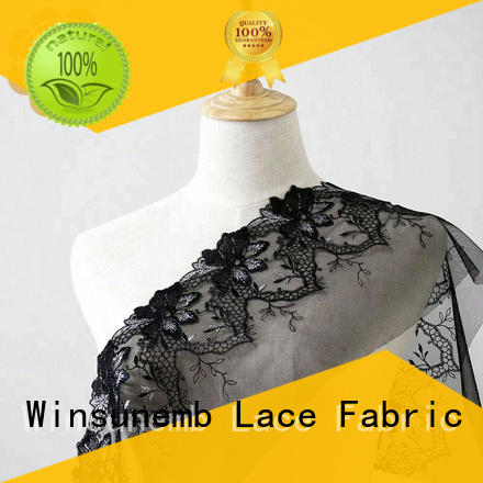 Quality Winsunemb Brand red lace fabric crown