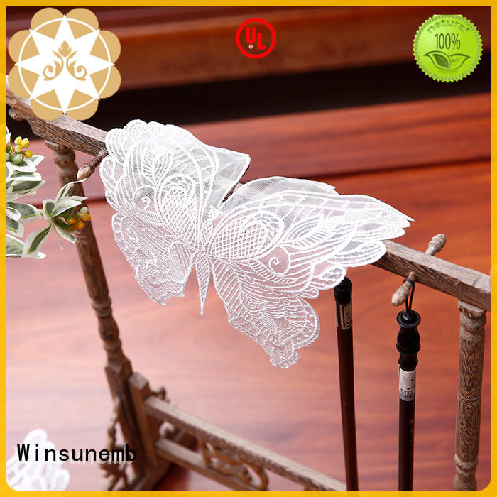 beautiful lotus traditional where to buy lace doilies Winsunemb manufacture