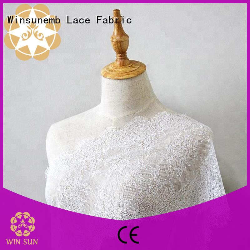 Winsunemb excellent lace for sale producer for underwear