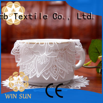 Winsunemb Brand oval where to buy lace doilies butterflyshaped supplier