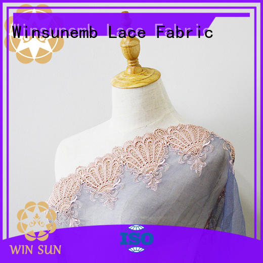 Winsunemb excellent lace fabric online for underwear