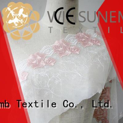 Winsunemb durable buy lace fabric bulk production for underwear