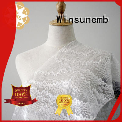 Winsunemb 18cm lace fabric for wedding dresses grab now for underwear