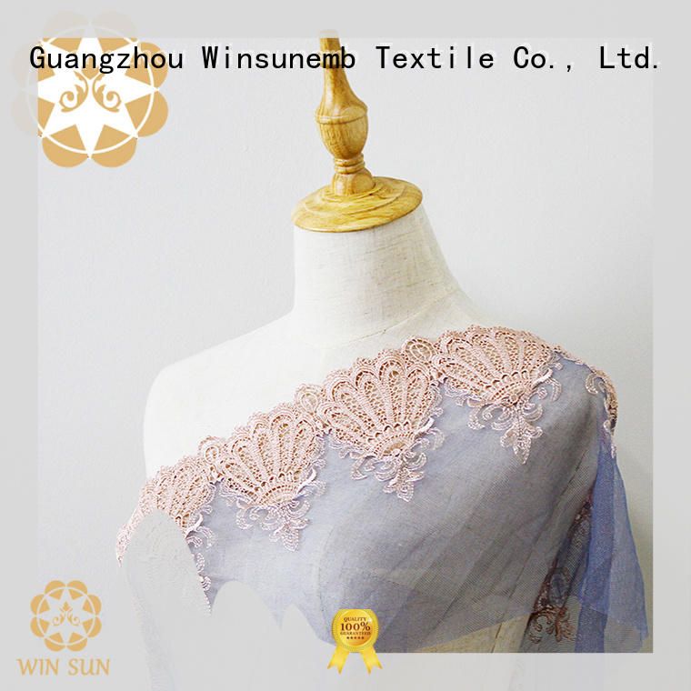 Winsunemb eyelet vintage lace grab now for apparel