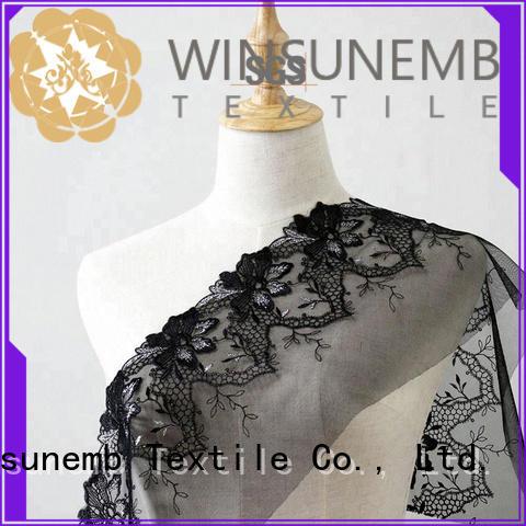 Winsunemb elegant silver lace fabric grab now for underwear