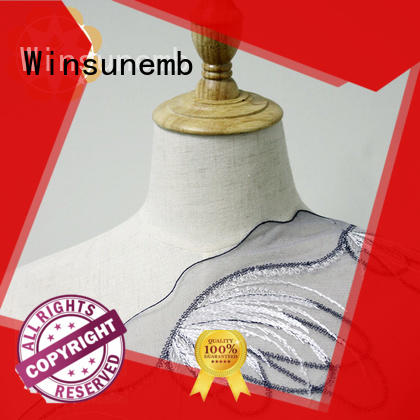white lace fabric coral for apparel Winsunemb