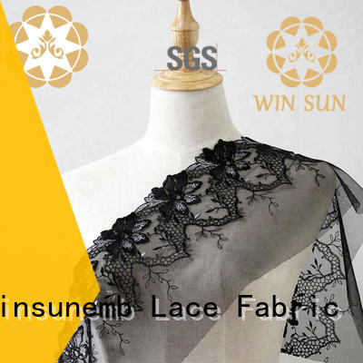 Winsunemb ivory lace producer for underwear