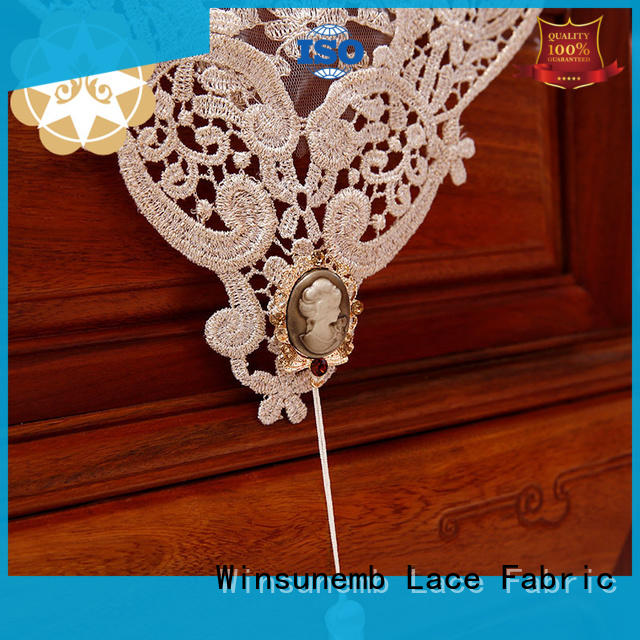 Wholesale long lace table runners Winsunemb Brand