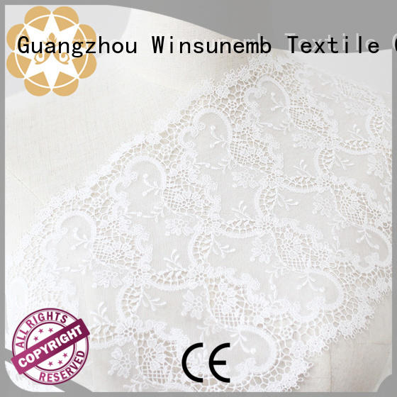Winsunemb elegant luxury lace in china for underwear