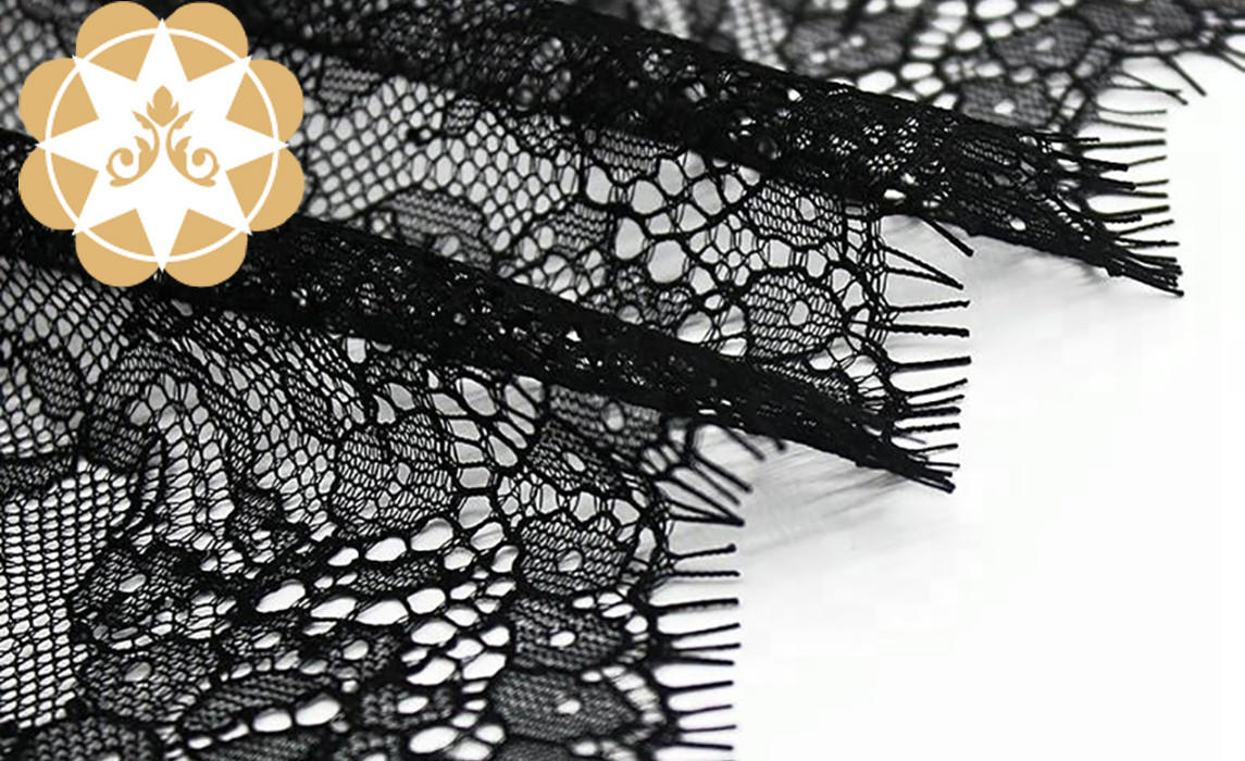 mesh Embroidery Lace Fabric order now for apparel-2