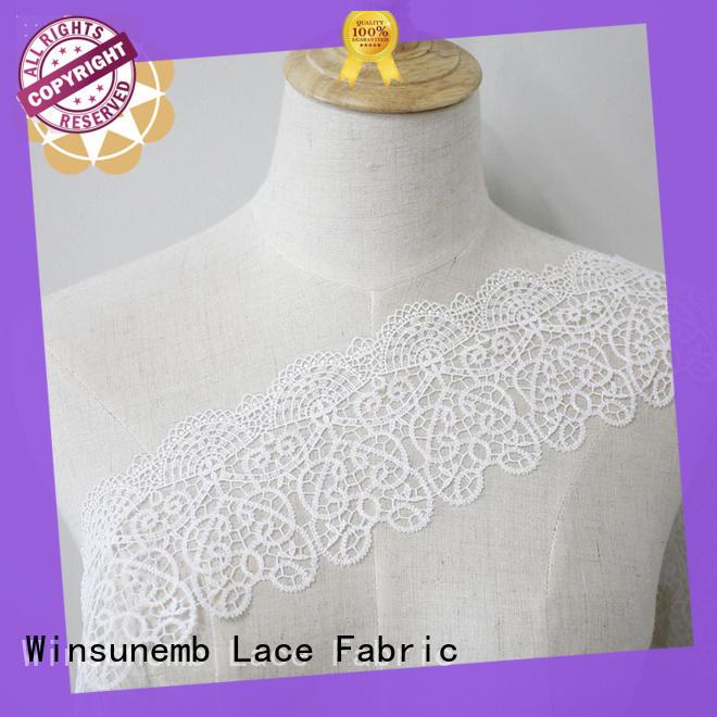 cotton lace trim design for DIY Winsunemb