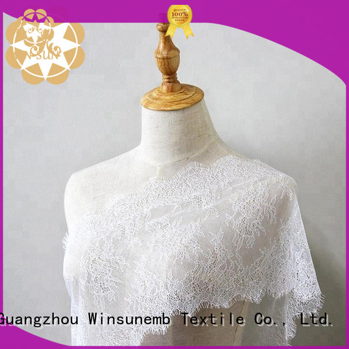 Winsunemb 135cm bridal lace by the yard order now for apparel