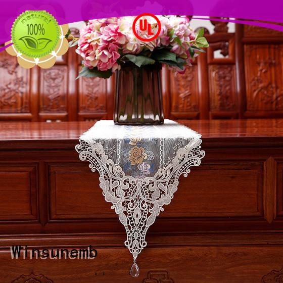 white table runner nop806 for TV cabinets Winsunemb