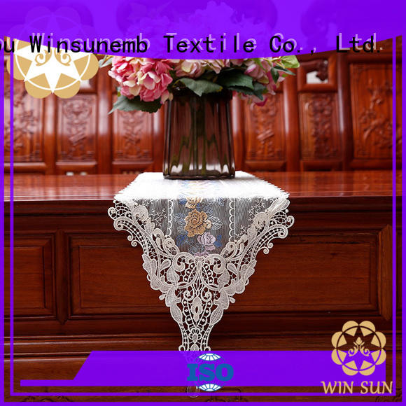 high-end lace table runners wedding runner order now for dining tables