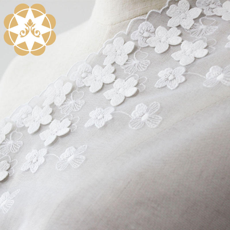 Winsunemb -High-quality Lace Fabric Online | Embroidery Lace Fabric 100polyester-2