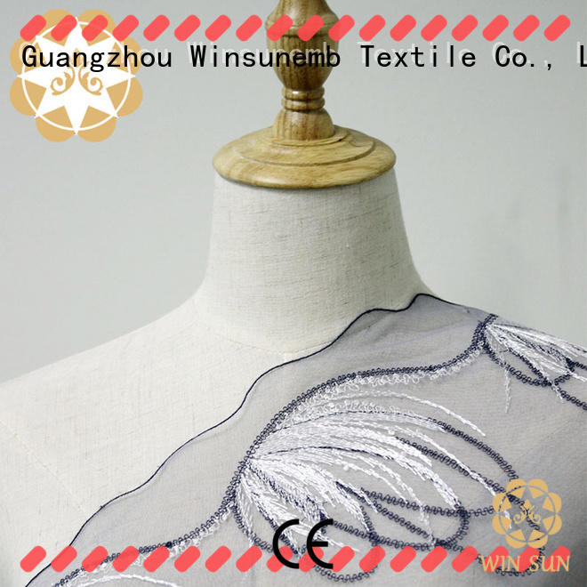 Winsunemb floral cotton lace fabric grab now for underwear