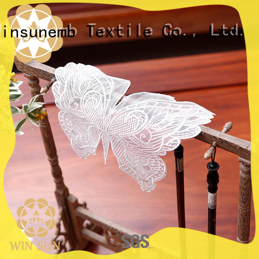 Winsunemb elegant lace doilies bulk for end table
