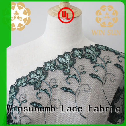 Winsunemb luxury lace in china for apparel