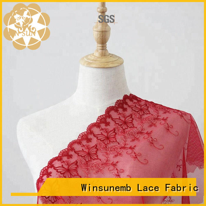 Winsunemb different color lace fabric shop now for underwear