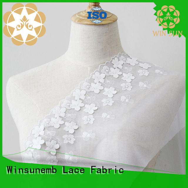 lace fabric tulle in china for apparel