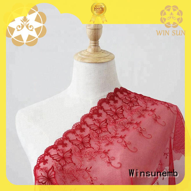 soft cotton lace fabric clothingaccessories for manufacturer for apparel