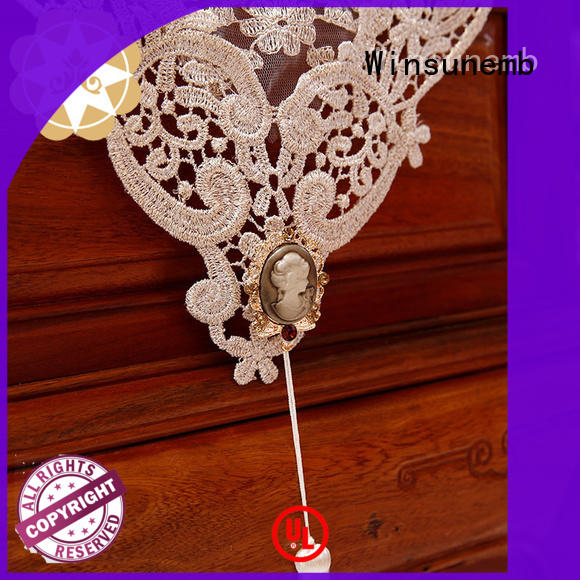 rose bridal lace table runners Winsunemb Brand