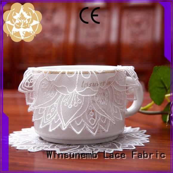 Winsunemb big lace doilies for sideboards