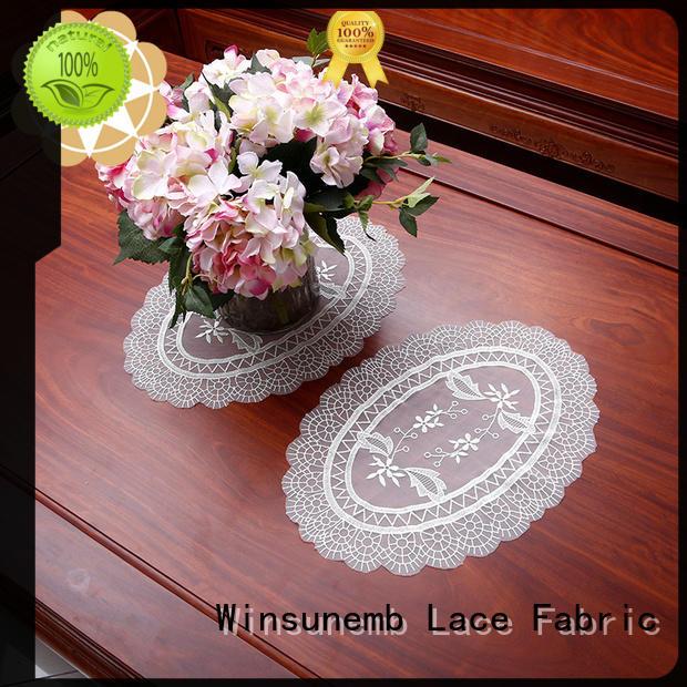 butterflyshaped Custom lotus lace doilies traditional Winsunemb