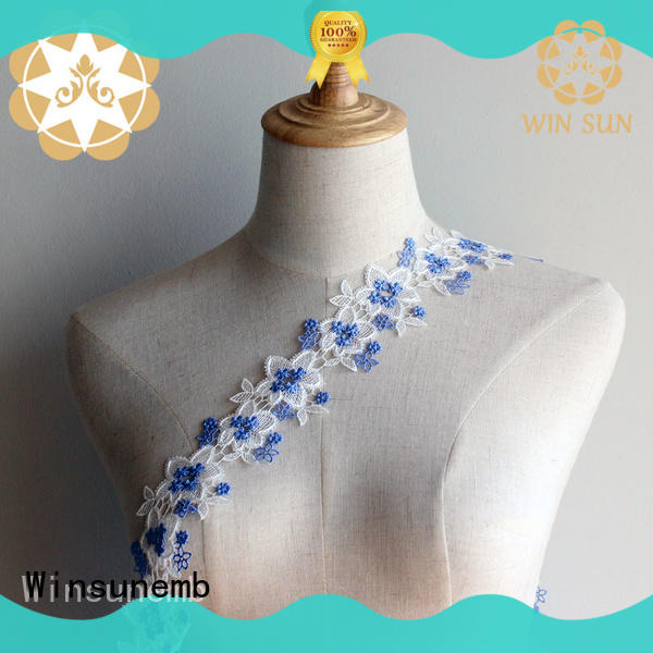 single stretch lace fabric producer for DIY