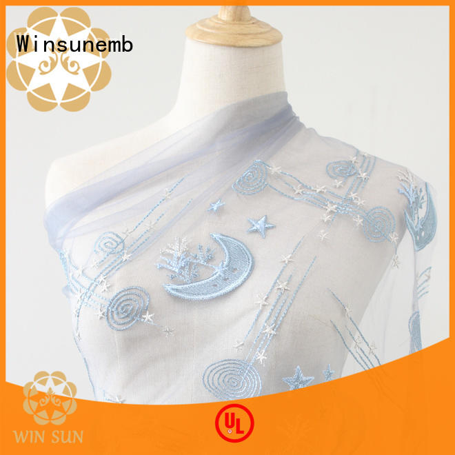 Winsunemb guipure lace fabric order now for underwear