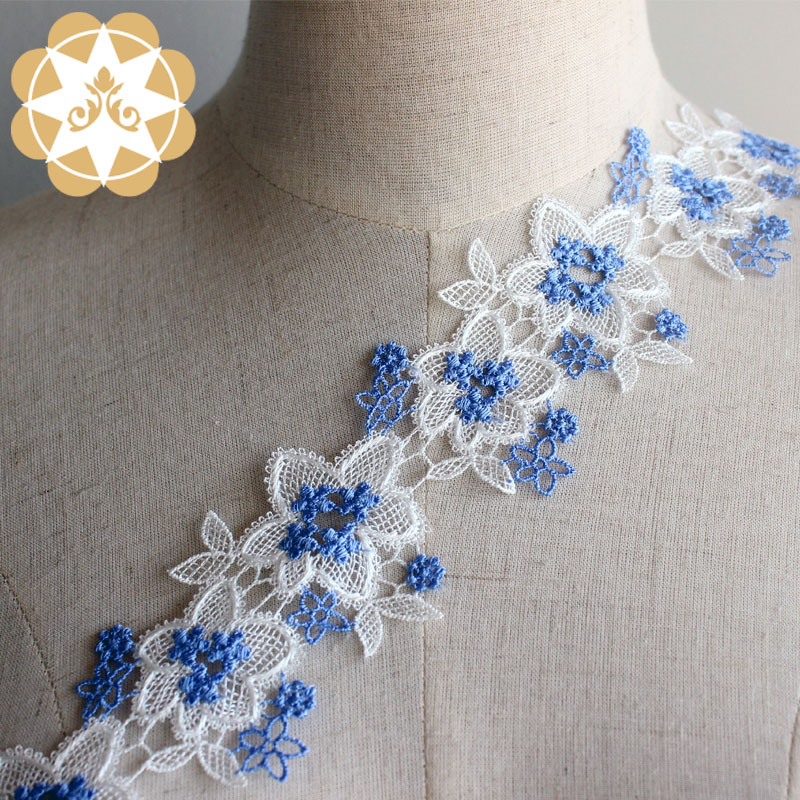Winsunemb -Find Lace Ribbon Embroidery Trims Europe Flower Pattern Ribbon Trim Lace 5-2