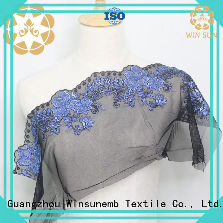 Winsunemb soft luxury lace in china for underwear