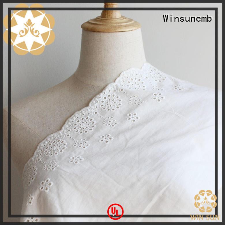 Winsunemb cool lace for sale bulk production for underwear