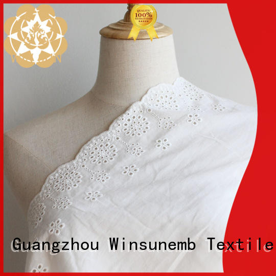 Winsunemb curtain lace material grab now for apparel