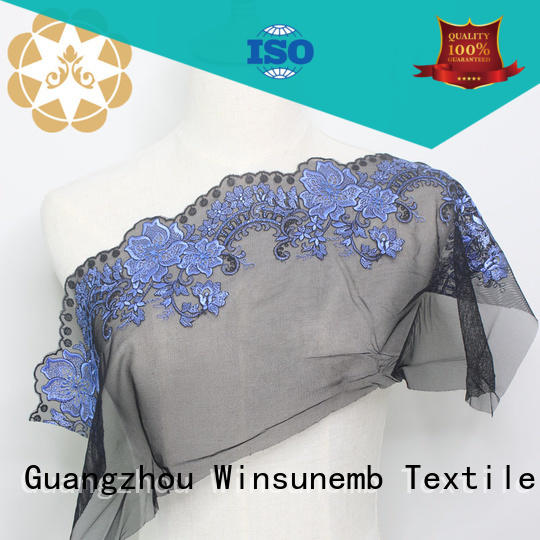 soft lace material for dressmaking for underwear