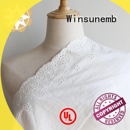 Winsunemb excellent vintage lace for apparel
